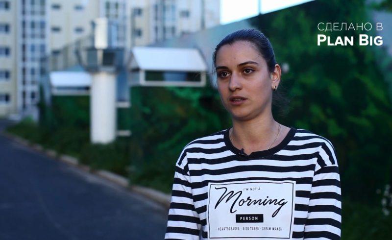 Съёмка интервью об энергоэффективности в домах ГК «Сибпромстрой»